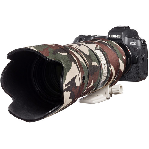easyCover Lens Oak Neoprene Protection Cover for Canon EF 70-200mm f/2.8 IS II/III USM Lens (Brown Camouflage)