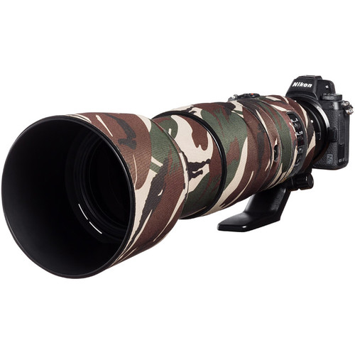 easyCover Lens Oak Neoprene Cover for Nikon 200-500mm f/5.6 VR Lens (Brown Camouflage)