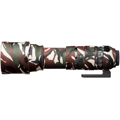 easyCover Lens Oak Neoprene Protection Cover for Sigma 150-600mm f/5-6.3 DG OS HSM Lens (Sport Green Camo)