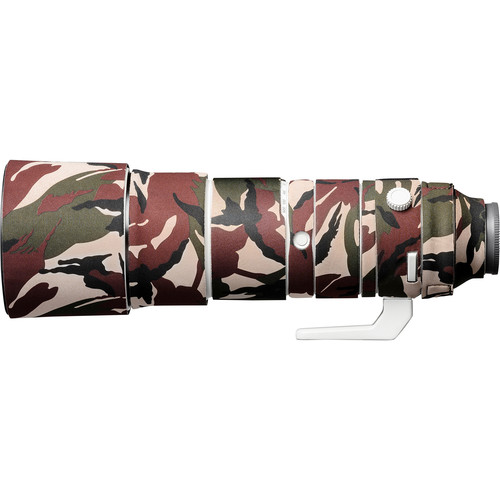 easyCover Lens Oak Neoprene Cover for Sony FE 200-600 F5.6-6.3 G OSS Lens (Green Camouflage)