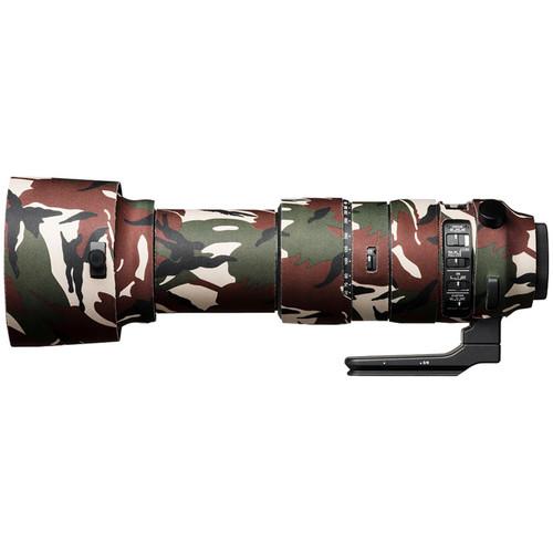 easyCover Lens Oak Neoprene Cover for Sigma 60-600mm f/4.5-6.3 DG OS HSM (Green Camouflage)