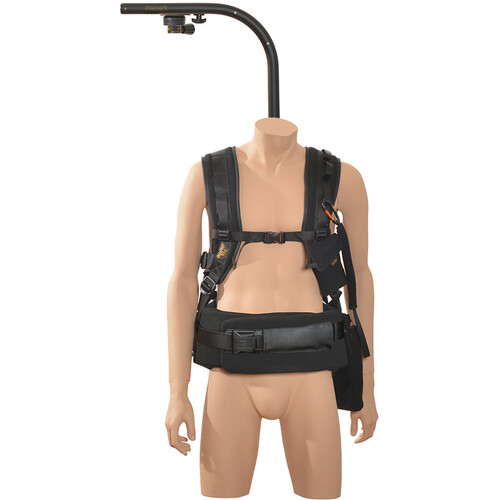 """Easyrig 200N Large Gimbal Rig Vest with 5"""" Extended Top Bar & Quick Release"""