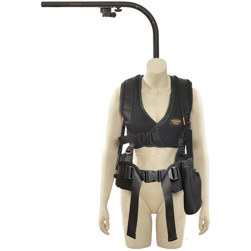 """Easyrig 400N Small Cinema Flex Vest with 9"""" Extended Top Bar & Quick Release"""