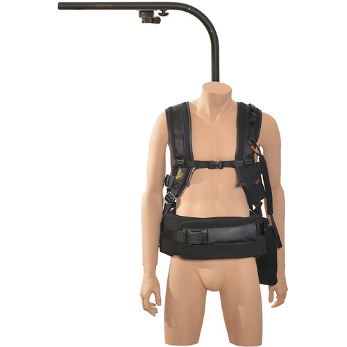 """Easyrig 400N Large Gimbal Rig Vest with 9"""" Extended Top Bar & Quick Release"""