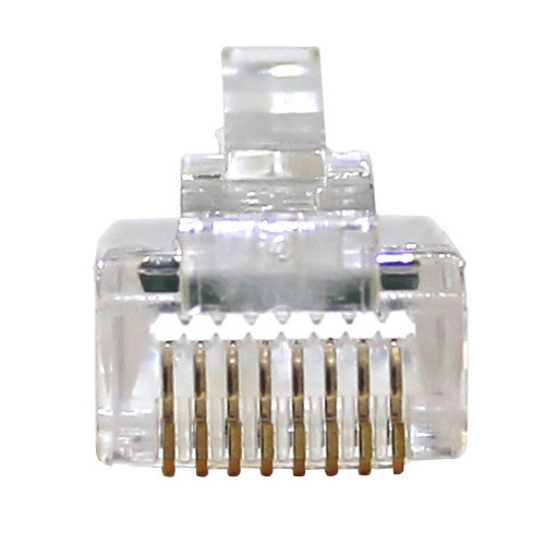 Eclipse Tools QuikThru RJ45 Cat6 Unshielded Connector (500-Pack)