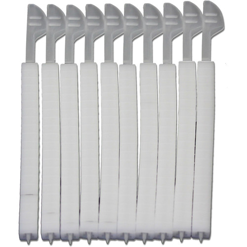 Eclipse Tools QuikZip Tie Ends (200-Pack, White)