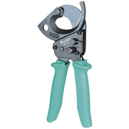 Eclipse Tools Ratchet Cutter with Extended Handles for 750 MCM Cable
