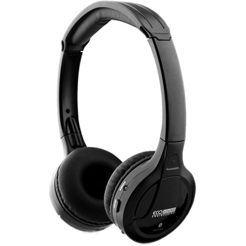 ECO Sound ECO V300 Wireless Stereo Headphones (Black)
