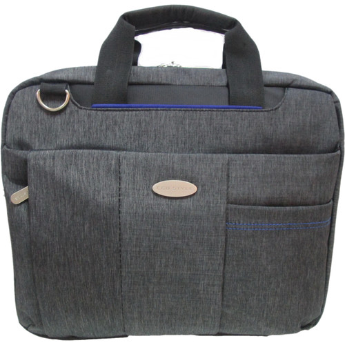 "ECO STYLE Tech Lite 14"" Laptop TopLoad Case with iPad Compartment"