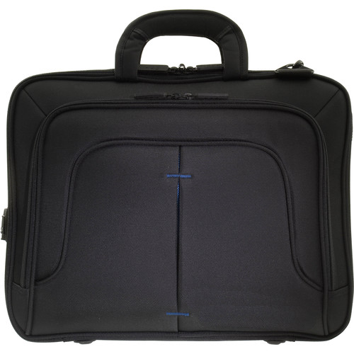 ECO STYLE Tech Pro TopLoad Checkpoint Friendly Case (Black/Blue)