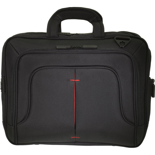 "ECO STYLE Tech Pro TopLoad Checkpoint Friendly Case for 16.1"" Laptop (Red)"
