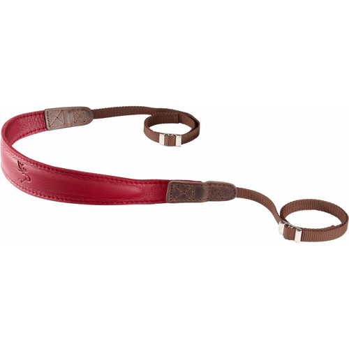 EDDYCAM Monochrome Camera Strap (Small, Red)