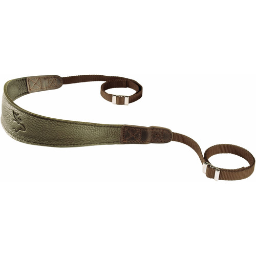 EDDYCAM Monochrome Camera Strap (Medium, Dark Green)