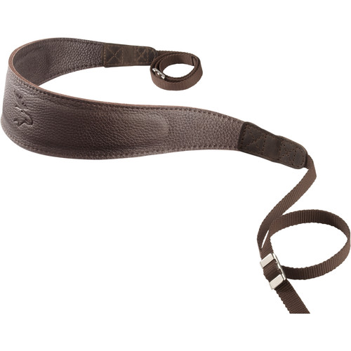 EDDYCAM Monochrome Camera Strap (Large, Dark Brown)