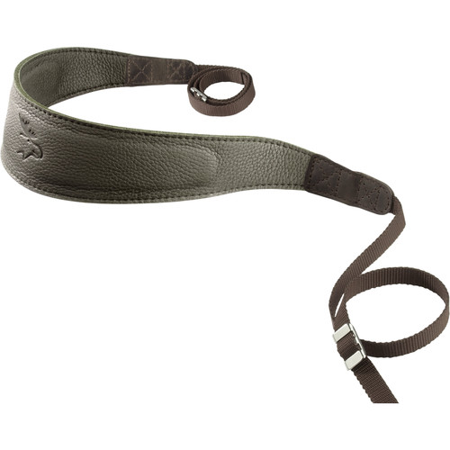 EDDYCAM Monochrome Camera Strap (Large, Dark Green)