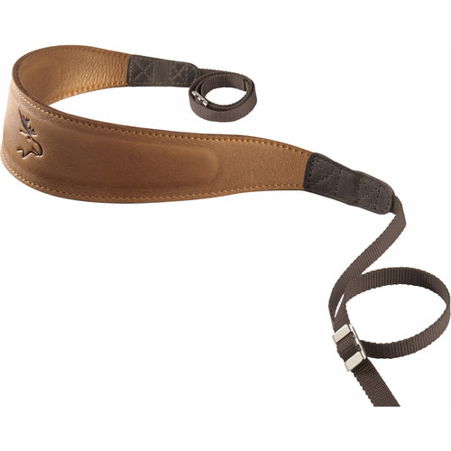 EDDYCAM Premium Camera Strap (Large, Natural/Natural with Natural Stitching)