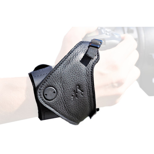 """EDDYCAM SLiNG-3 """"Set"""" Hand Strap with Wristband and Plate 1 (Black)"""