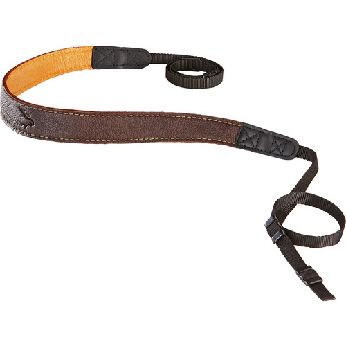 EDDYCAM Edition 35mm Camera Strap (Brown/Natural with Natural Stitching)
