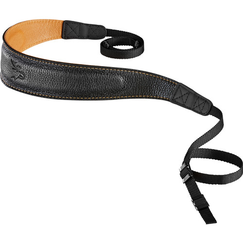 EDDYCAM Edition 50mm Camera Strap (Black/Natural with Natural Stitching)