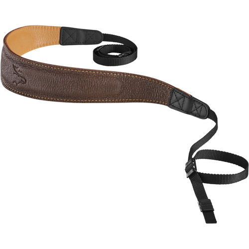 EDDYCAM Edition 50mm Camera Strap (Brown/Natural with Natural Stitching)