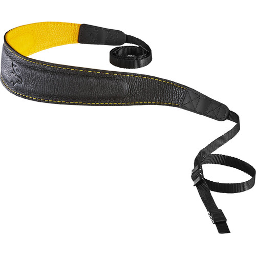 EDDYCAM Edition 50mm Camera Strap (Black/Yellow with Yellow Stitching)