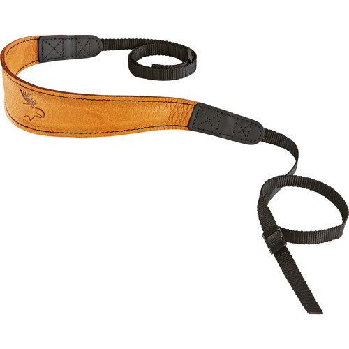 EDDYCAM Fashion -2- Camera Strap (Medium, Natural/Natural with Black Stitching)