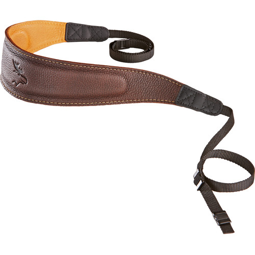 EDDYCAM Fashion -2- Camera Strap (Large, Brown/Natural with Natural Stitching)