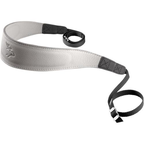 EDDYCAM Fashion -1- Camera Strap (Large, White/White with White Stitching)