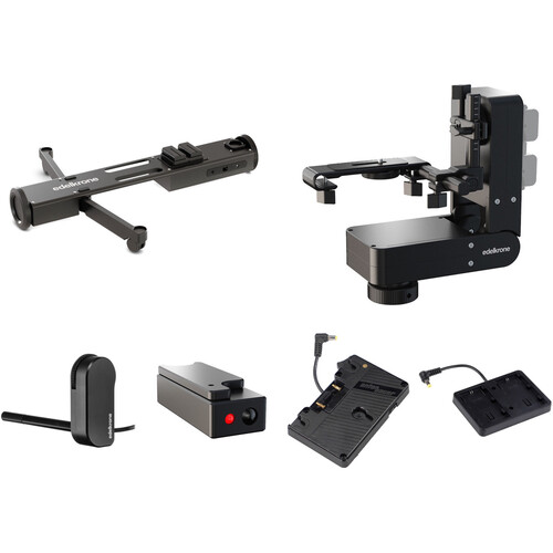 edelkrone DollyPLUS with HeadPLUS Bundle (Gold Mount)