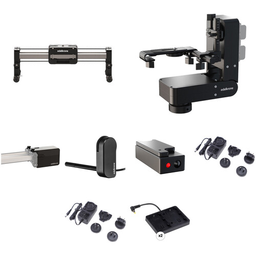 "edelkrone 13"" SliderPLUS Compact Bundle 2 with Focus & Laser Modules (LP-E6)"