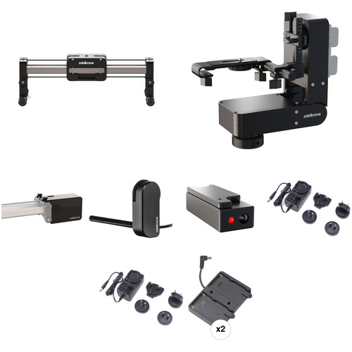 "edelkrone 13"" SliderPLUS Compact Bundle 2 with Focus & Laser Modules (NP-F)"