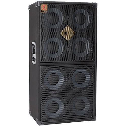 "Eden Amplification P810XST4U 8x10"" Rocco Prestia 2000W Bass Guitar Cabinet (4 Ohms)"