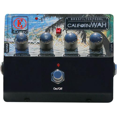 Eden Amplification CalifoniWAH Bass Filter Pedal