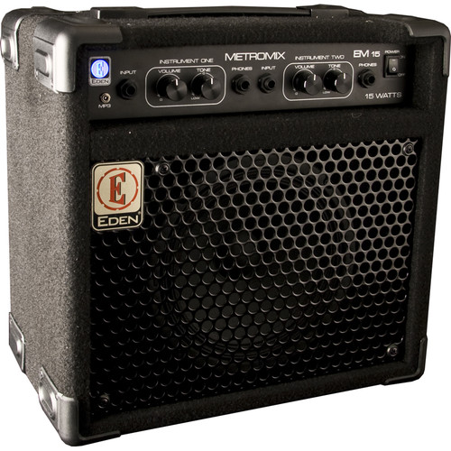 Eden Amplification EM15 Two-Channel Combo Amplifier