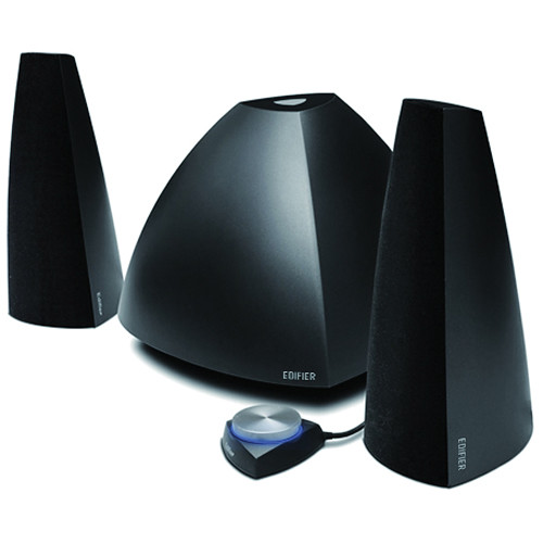 Edifier Prisma 2.1-Channel Audio System with Bluetooth Connectivity (Black)