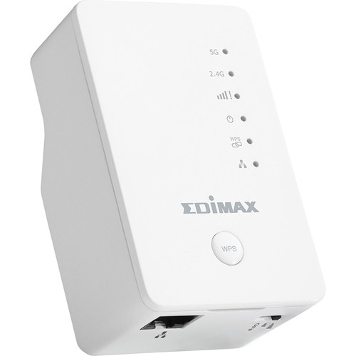 EDIMAX Technology EW-7438AC Smart AC750 Dual-Band Wi-Fi Extender / Access Point / Wi-Fi Bridge