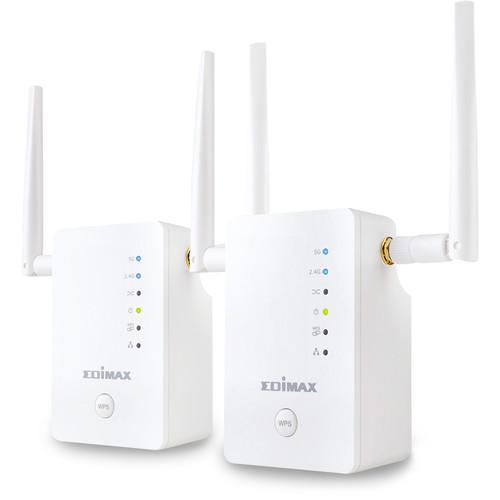 EDIMAX Technology Gemini RE11 AC1200 Dual-Band Home Wi-Fi Roaming Kit