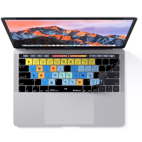 Editors Keys Steinberg Cubase Keyboard Cover for MacBook Pro with Touch Bar (Late 2016+)