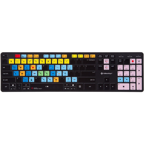Editors Keys Cubase Wired Slimline Keyboard for Mac/Windows (US English)
