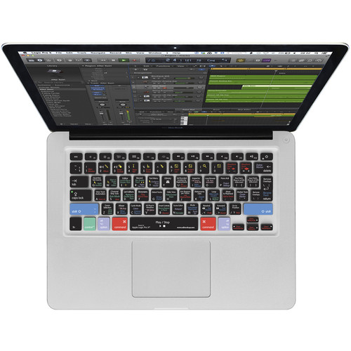 Editors Keys Apple Logic Pro X Silicone Keyboard Cover for MacBook Pro, Air & iMac Wireless Keyboards