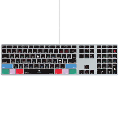 Editors Keys Logic Pro X Silicone Keyboard Cover for iMac Ultra-Thin Wired Keyboards