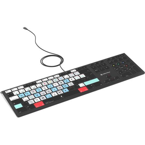 Editors Keys Adobe Lightroom Backlit Keyboard (PC)