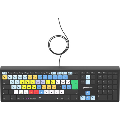 Editors Keys Avid Media Composer Backlit Keyboard (Mac)