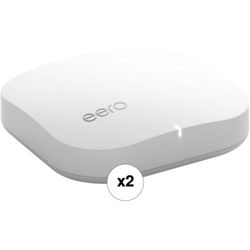 eero Home Wi-Fi System Kit (2 eero's, Manufacturer Refurbished)