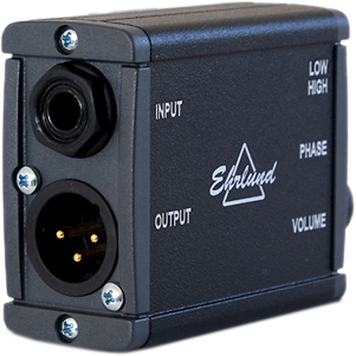 Ehrlund Microphones EAP Phantom Powered Preamp for Acoustic Pickup
