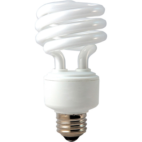 Eiko SP19/27K Spiral Fluorescent Lamp (18W/120V)