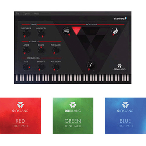 Eisenberg Einklang RGB Bundle with Red/Green/BlueTone Packs (Electronic Download)