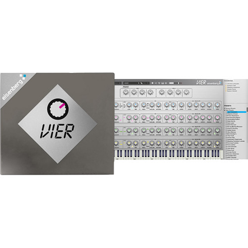 Eisenberg VIER - Doepfer MS-404 Emulation Virtual Instrument (Download)