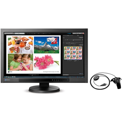 """Eizo ColorEdge CX271-BK-CNX 27"""" Widescreen LED Backlit LCD Monitor with EasyPIX Color Matching Tool"""