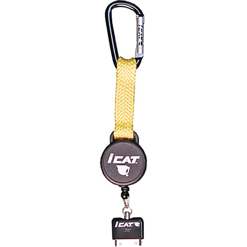 EK USA iCat Reel it for 30-pin iPhone, iPod and iPad (Yellow)